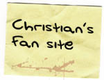 Christian Slater's fan site